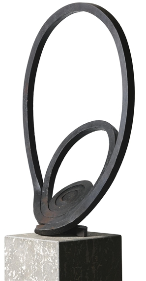 Espiral del viento. Martin Chirino. Hierro fragua