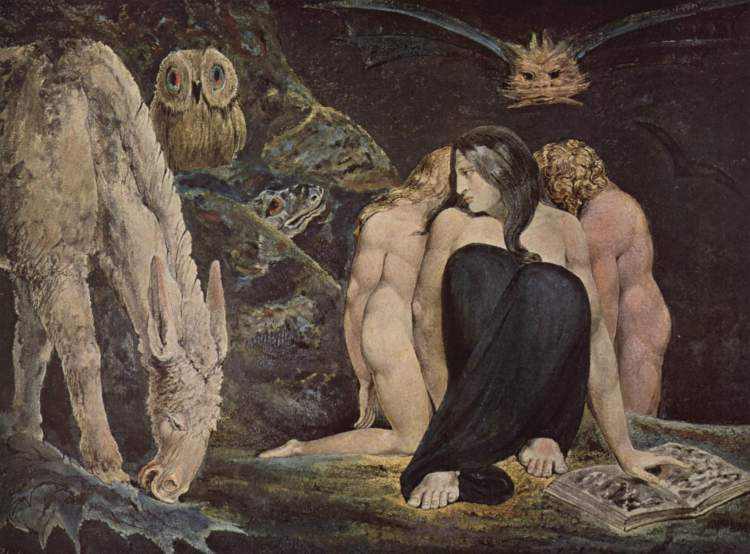 Hécate, William Blake