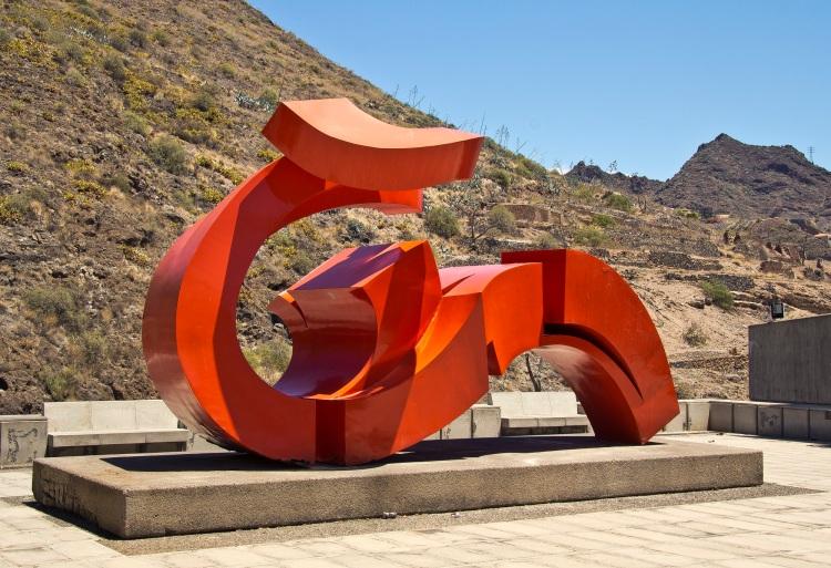 Forja, fragua y viento. Tenerife. Obra realizada en hierro.