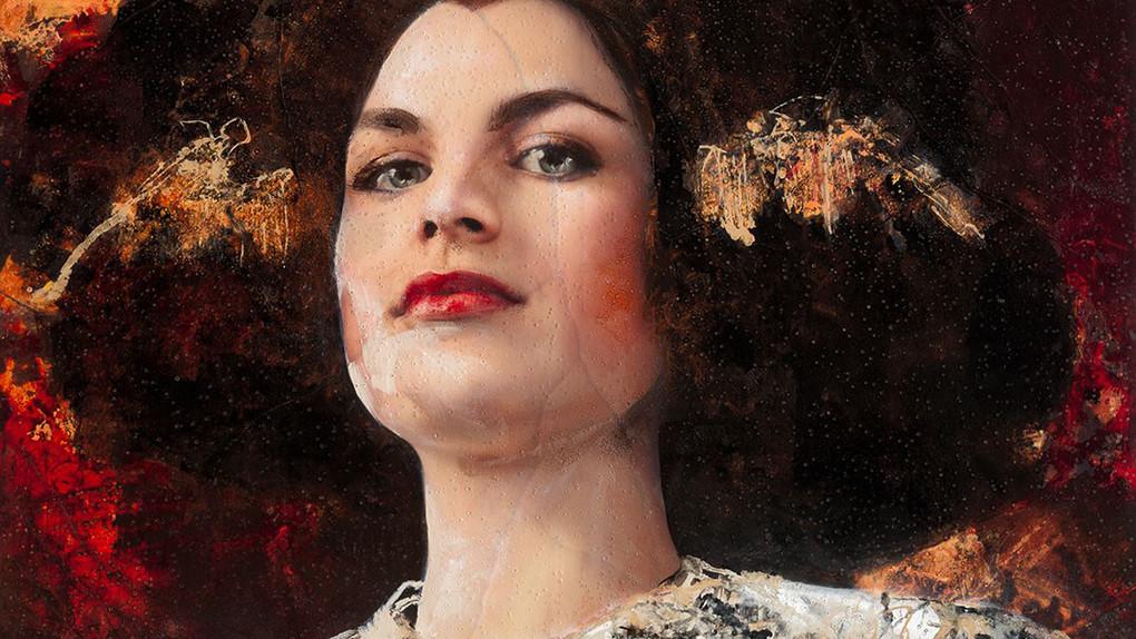 Lita Cabellut. retrato