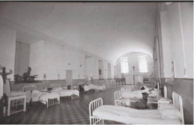 Hospital ubicado en el Museo Reina Sofia