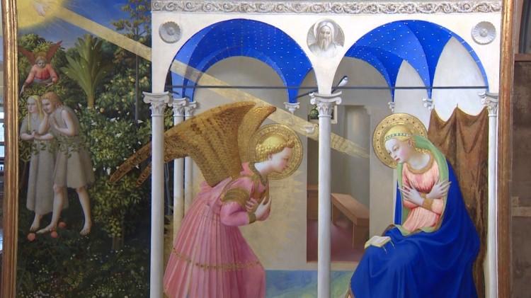 La Anunciación de Fra Angélico. Imagen de Europapress