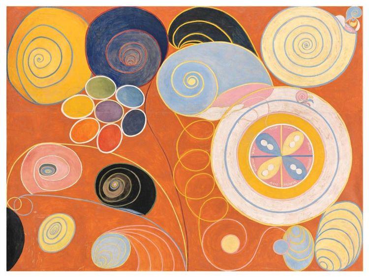 Hilma Af Klimt. Pintura abstracta
