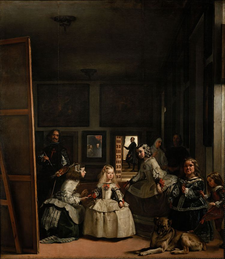 De Diego Velázquez - The Prado in Google Earth: Home - 7th level of zoom, JPEG compression quality: Photoshop 8., Dominio público, https://commons.wikimedia.org/w/index.php?curid=22600614